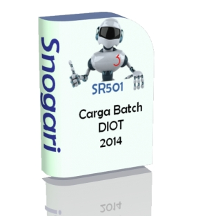 Archivo de Excel Carga batch DIOT 2014