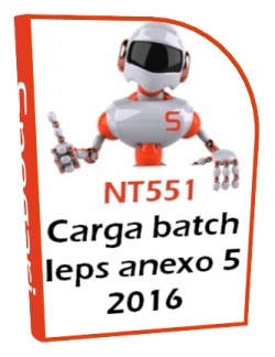 Carga batch MULTI-IEPS 2016 anexo 5